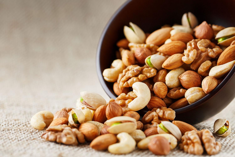 El consumo regular de frutos secos no engorda